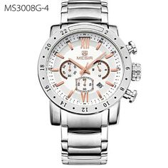 5ef88cae196 Men Watch Big 3D Dial Display Men Military Wristwatch Clock Waterproof  Luminous