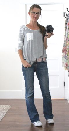 source says this top is from stitch fix...like the colors and fit. Hey stitch fix - I need this in my next fix!