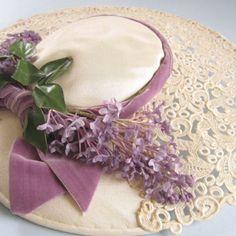 vintage Easter bonnet from eBay seller winter-garden