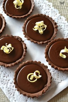 tartaletas de chocolate thermomix   chocolate tarts   masa quebrada