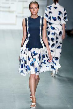 J JS Lee womenswear, spring/summer 2015, London Fashion Week