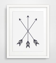 Bohemian Decor Feather Arrows Arrows by MelindaWoodDesigns on Etsy