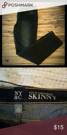 NY & Company Skinny jeans, size 16 New York & Company Skinny jeans, size 16  All my stuff comes from a smoke free and pet free home.  I encourage you to bundle to save on shipping, so check out my closet for other deals!   219 New York & Company Pants Skinny