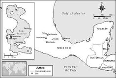 Ancient Mesoamerica Map