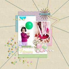 шаблон и набор  Fairy Tales от  Sahin Design