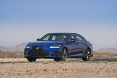 Lexus unveiled the 2019 Lexus ES midsize luxury sedan. It continues to use the front-wheel-drive platform shared with the Camry, and it features high-end details similar to other Lexus models. Lexus Es, Free Cars, Luxury Cars, Exterior, News, Engine, February, Photos, Pictures