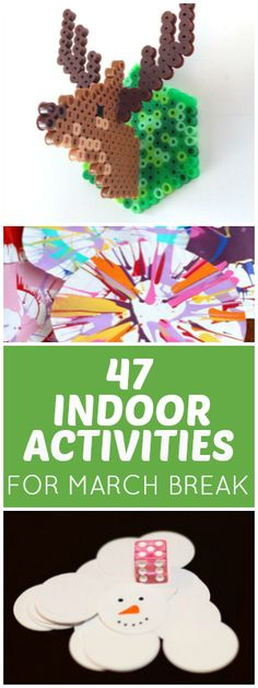 47 projects, plans, ideas and more. Try using technology in a new way, get kids into the kitchen or break out the art supplies for a fun creative project.