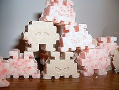 Geeky wedding favors for every genre of geekdom | Offbeat Bride - Chocolate in the geeky ice cube trays!