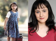 "Mara Wilson. Known for playing ""Matilda Wormwood"" (""Matilda"") and ""Susan Walker"" (""Miracle on 34th Street""; 1994). Both are some of my favourite movies. It's quite refreshing to see a child star that turned out fine and is still sane!"