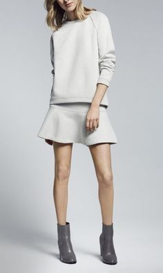 Style - Minimal + Classic: Country Road love the skirt and short boots