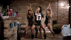"Every scene and look from Nicki Minaj and Beyoncé's ""Feeling Myself,"" broken down."