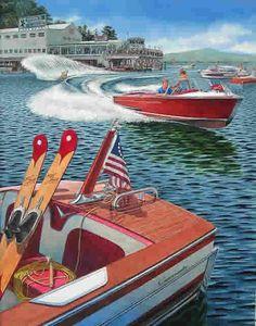 Peter Ferber - boat poster