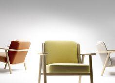 Alki Lasai armchairs in different colors by Jean Louis Iratzoki