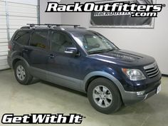 Rack Outfitters - Kia Borrego Thule Crossroad SQUARE BAR Roof Rack '09-'12*, $299.90 (http://www.rackoutfitters.com/kia-borrego-thule-crossroad-square-bar-roof-rack-09-12/)