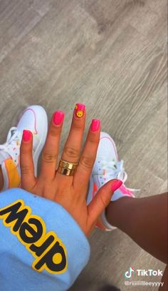 Acrylic Nails, Acrylics, Fire Nails, Short Nails, Nail Inspo, Swag Nails, Summer Nails, Nail Designs, Girly