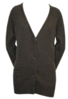 Dark Grey Cashmere Cardigan - Queene & Belle  http://www.room7.co.uk/what-s-new/queene-belle-n-a-cardigan.html