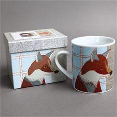 New to Melbury Gallery - the Carola Van Dyke Beasties collection - Mr Fox Mug priced at £9 with presentation box... http://www.melburygallery.co.uk/shop/gifts/ #carolavandyke #foxmug #greatgiftidea