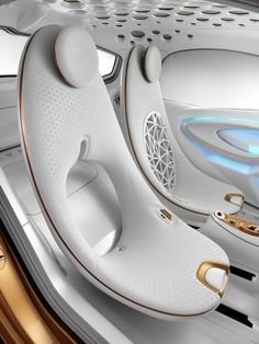 Smart Forvision Concept - Interior, of 22 Auto Design, Design Autos, Car Interior Design, Automotive Design, Design Cars, Interior Decorating, E Mobility, Automobile, Futuristic Cars