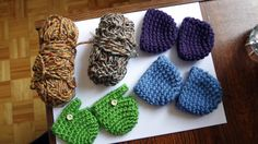 Handmade Crochet Doll Shoes for 15 by mylittlepoppyseed on Etsy, $6.50