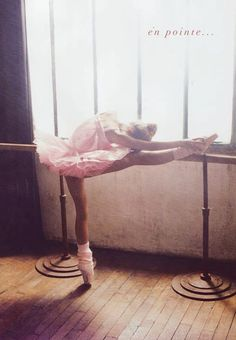 Ballerinas are the ultimate athletes.