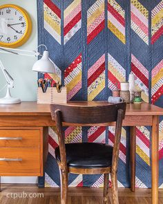 Strip Your Stash: Dynamic Quilts  Made From Stips by Gudrun Erla #StripYourStash