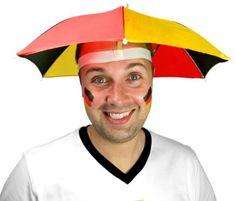 What a fun way to accessorize nationalism! Mutant Unicorn · Umbrella Hats 8ba7a2a35b4