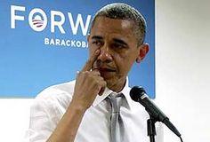 Barack Obama Crying Video Goes Viral in Social Media.    Read more here http://rtoz.org/2012/11/10/barack-obama-crying-video-goes-viral-in-social-media/