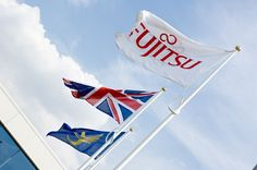 Fujitsu flag by House of Flags