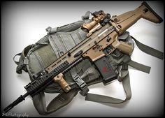 FN SCAR by ::::316::::, via Flickr
