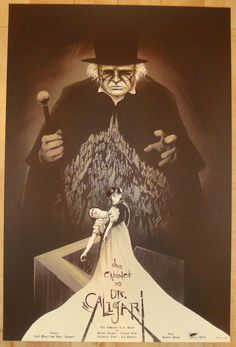 """2014 """"The Cabinet of Dr. Caligari"""" - Variant Poster by Tong"""