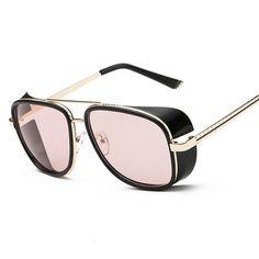 a54c765dcc8 Fashion IRON MAN 3 Matsuda TONY Steampunk Sunglasses Men Women Sun Glasses