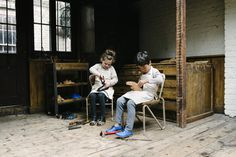 Beautiful shoot by Michelle Marshall for Chapter 2 handmade kids footwear