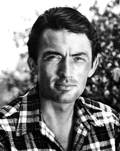 Gregory Peck: He seemed meticulously craved from flesh and created just to be a movie star... & he was a GREAT one.