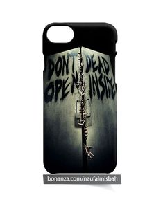 Walking Dead Deadly Doors Don t Open iPhone 5 5s 5c 6 6s 7 8 + Plus X Case Cover
