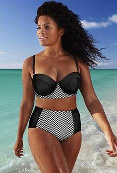548d231d1c Swim Sexy Bikinis - Swim Sexy The Madame Yacht Cruise Underwire Bikini Plus  Size Swimsuits