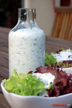 Salad Recipes, Diet Recipes, Dessert Recipes, Cooking Recipes, Diabetic Recipes, Healthy Recipes, Hungarian Recipes, Salad Dressing, Meal Prep