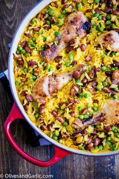 Chicken, Rice & Beans Skillet