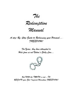 THE REDEMPTION MANUAL