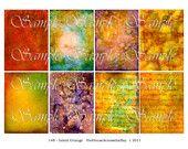 8 Inked Grunge backgrounds $3.25