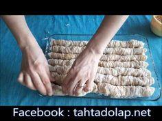 Baklavalık Yufkadan Kadayıflı Sarma -TATLI Tarifleri - YouTube