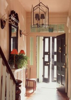 Entrance Halls   Richard Keith Langham: Ideas for Entryway, waiting area, and doors/sidelights/windows/transoms, etc. in and around the studio. :D