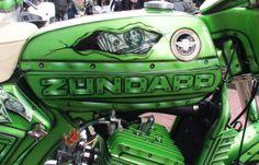 Super  Zundapp Water Cooler 125cc  Special Paint Spiderman