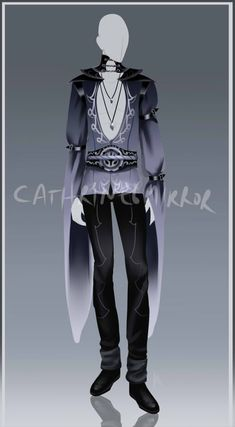 Outfit 38 by Anime Outfits, Boy Outfits, Cute Outfits, Fashion Outfits, Clothing Sketches, Fantasy Costumes, Drawing Clothes, Character Outfits, Character Design Inspiration