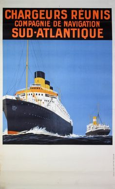 Chargeurs Réunis - Compagnie de Navigation Sud-Atlantique - 1930 -