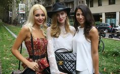 Gucci Street Style in Milan Fashion Week | The New Art of Fashion