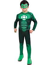 """Green Lantern - Hal Jordan Muscle Child Costume Description: """"One of us."""" Your little Hal Jordan will love joining forces with the Green Lantern Corps to d Green Lantern Kostüm, Green Lantern Hal Jordan, Up Costumes, Super Hero Costumes, Adult Costumes, Children Costumes, Couple Costumes, Costume Ideas, Halloween Fancy Dress"""
