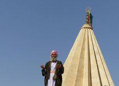 Gebet in Sherfedin, Shingal, Irak