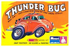 Monogram Thunder Bug