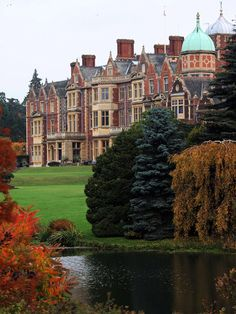 Sandringham ~ One of Her Majesty The Queen's beloved country retreats, as well as the private home of four generations of British monarchs since 1862.