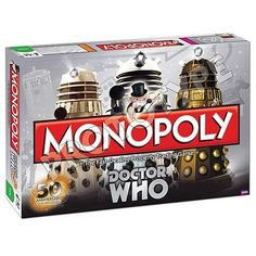 50th Anniversary Doctor Who Monopoly